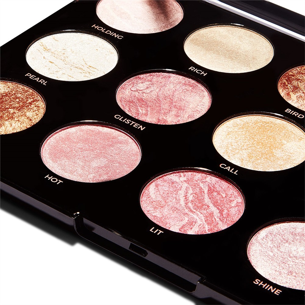 Highlighting-, Blush- & Bronzing-Palette - Pro HD Amplified Get Baked