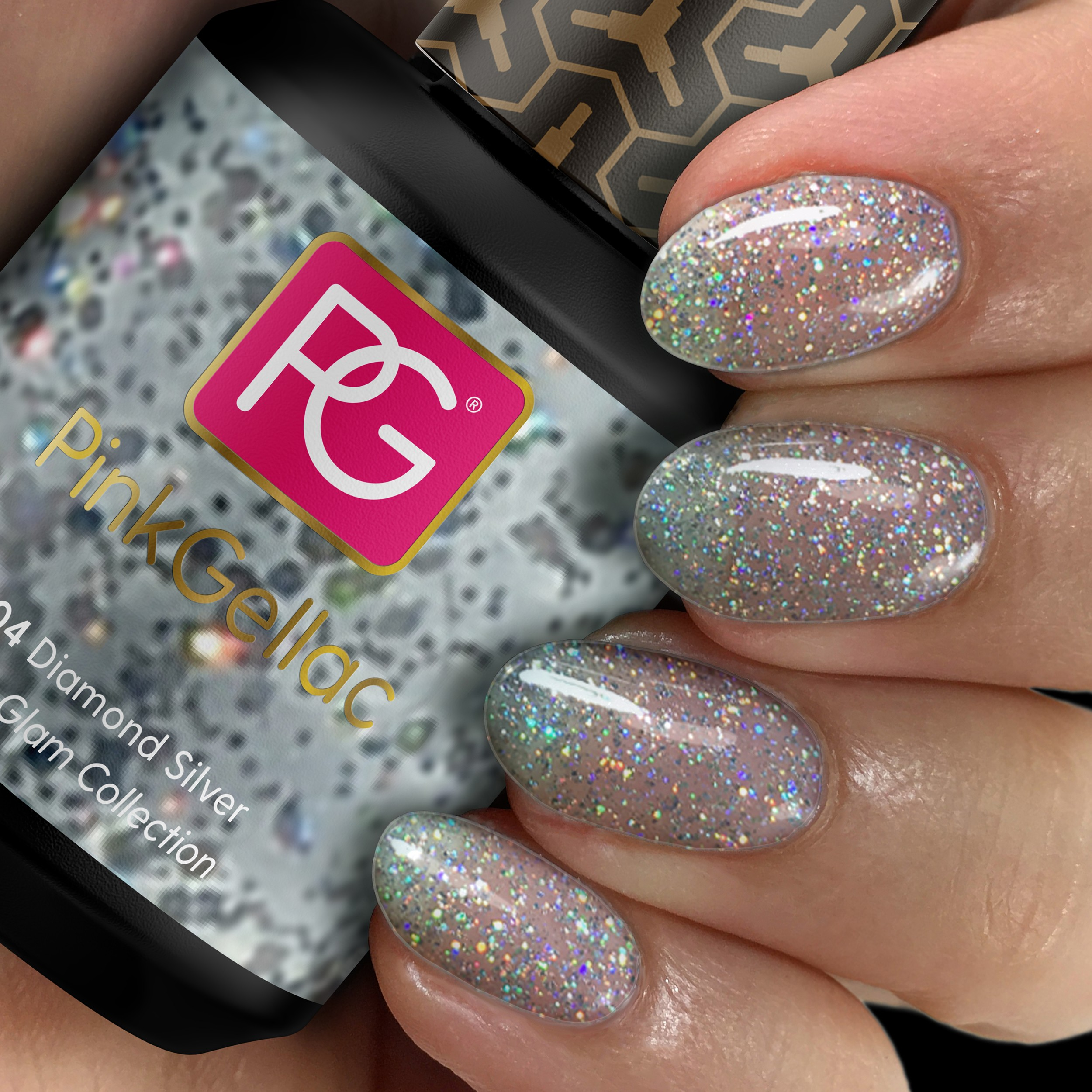 Gel-Nagellack - Disco Glam Collection