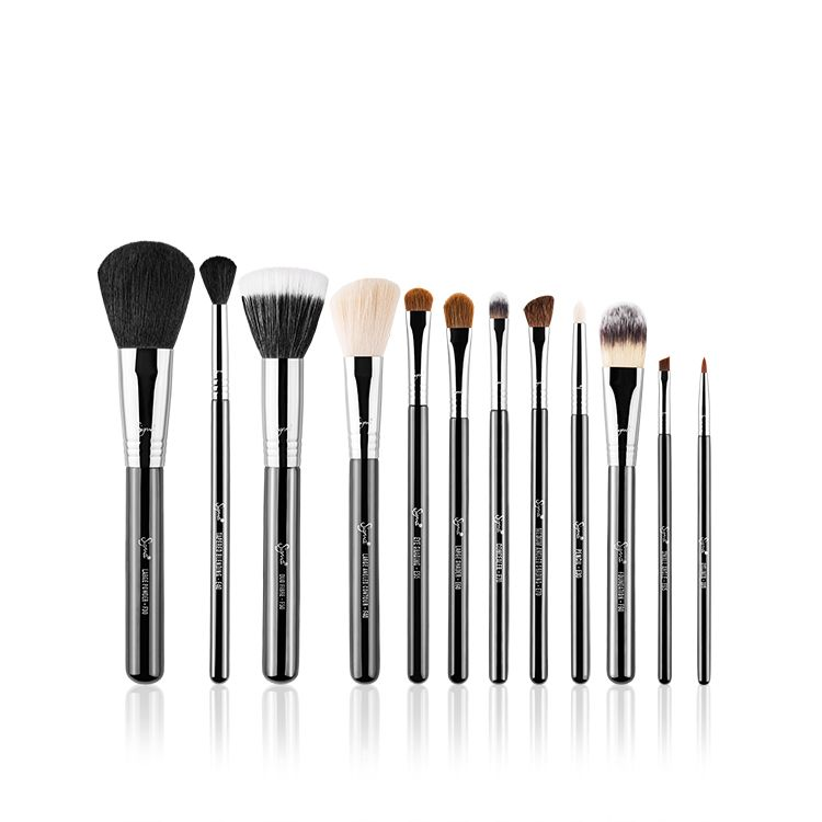12 Piece Brush Set - Essential Brush Set