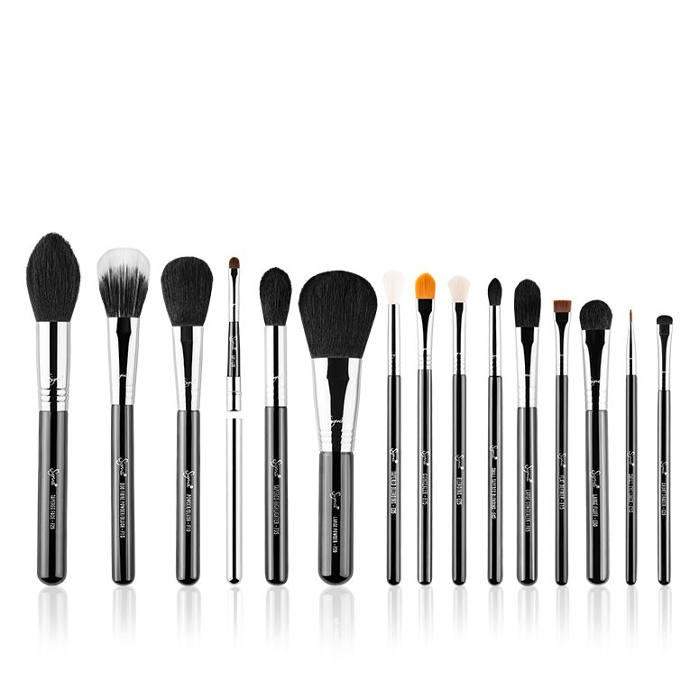 15-Teiliges Pinsel-Set - Premium Brush Kit