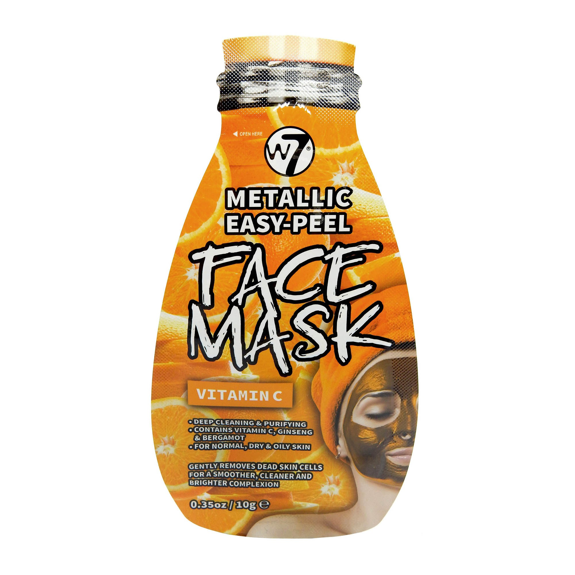 Peel-Off Gesichtsmaske - Metallic Easy-Peel Vitamin C Face Mask