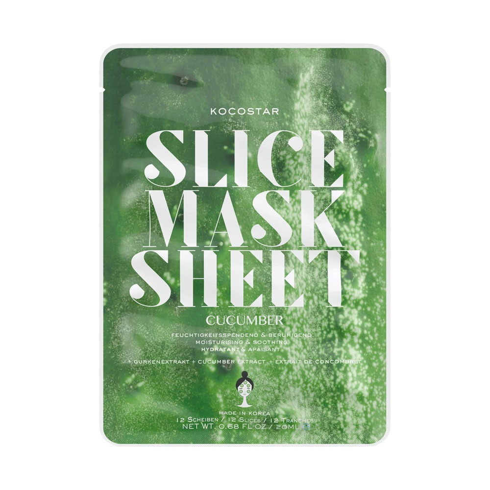 Gesichtsmaske - Slice Mask Sheet - Cucumber