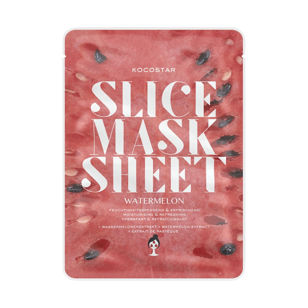 Gesichtsmaske - Slice Mask Sheet - Watermelon