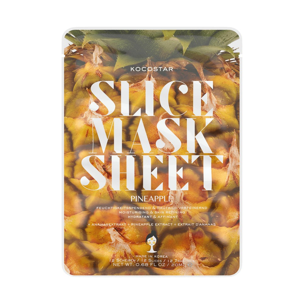 Gesichtsmaske - Slice Mask Sheet - Pineapple