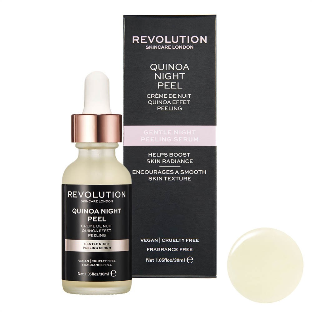 Gesichtsserum - Gentle Night Peeling Serum - Quinoa Night Peel