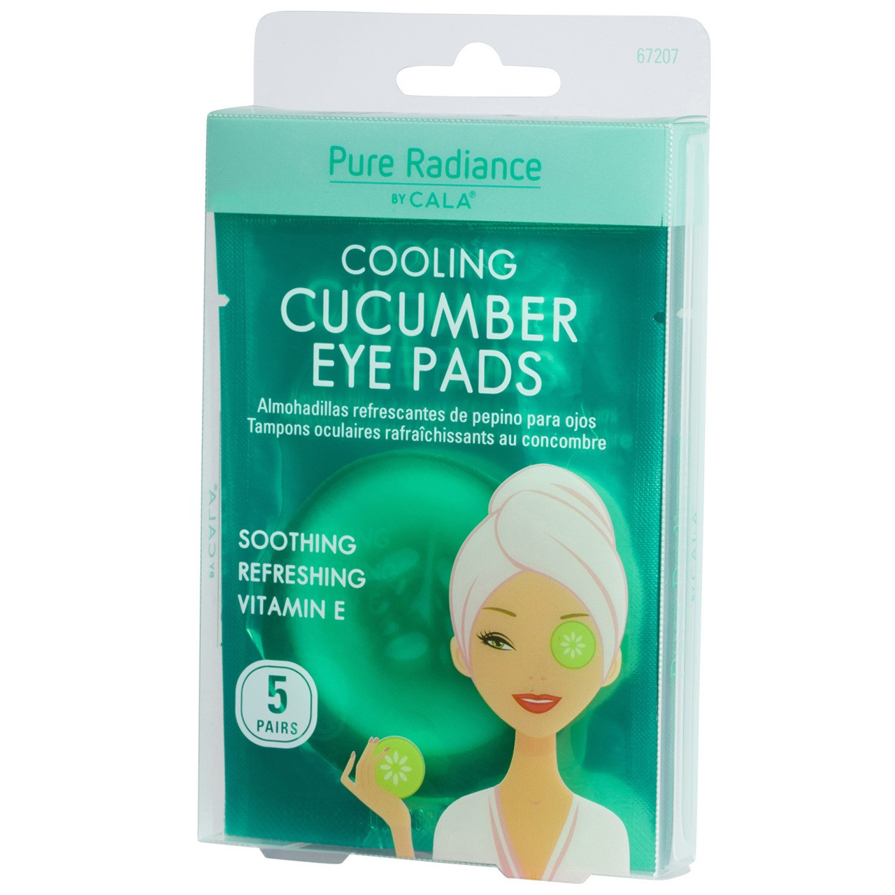 Augen-Pads: Cooling Cucumber Eye Pads (5 Paare)