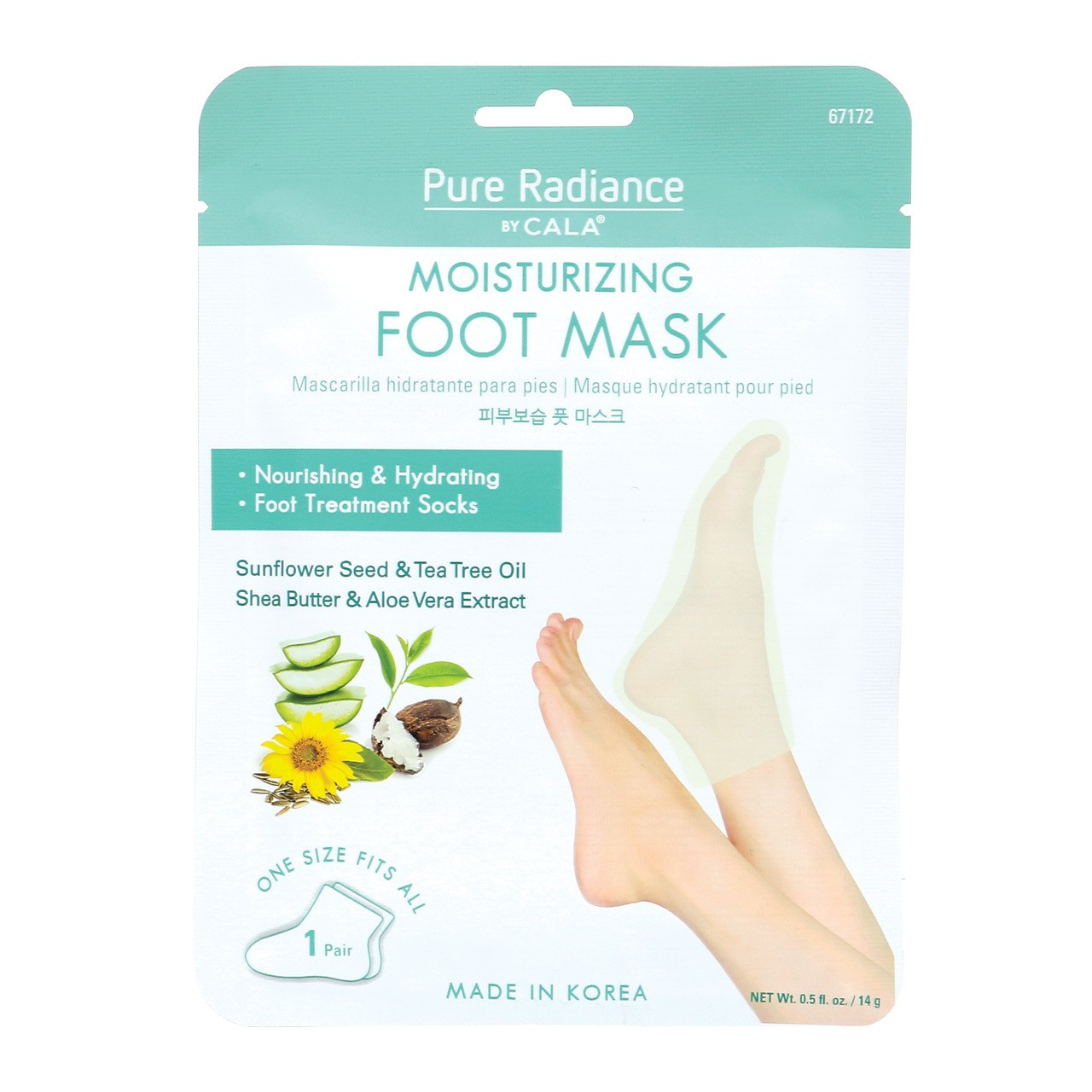 Moisturizing Foot Mask (3 Pairs)