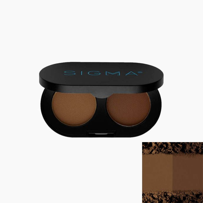 Augenbrauen-Puder - Color + Shape Brow Powder Duo