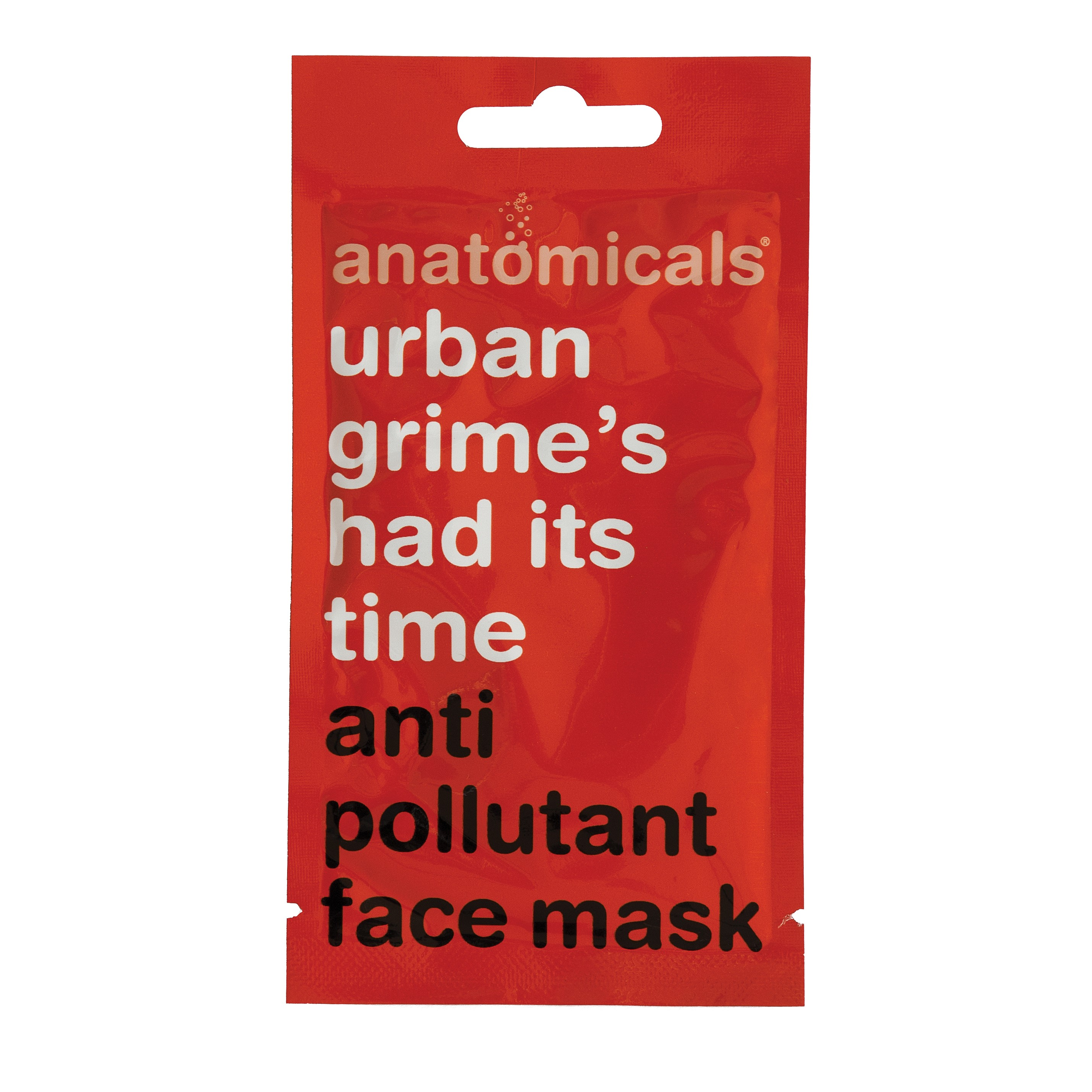Gesichtsmaske - Urban Grime's Had It's Time - Anti Pollution Face Mask