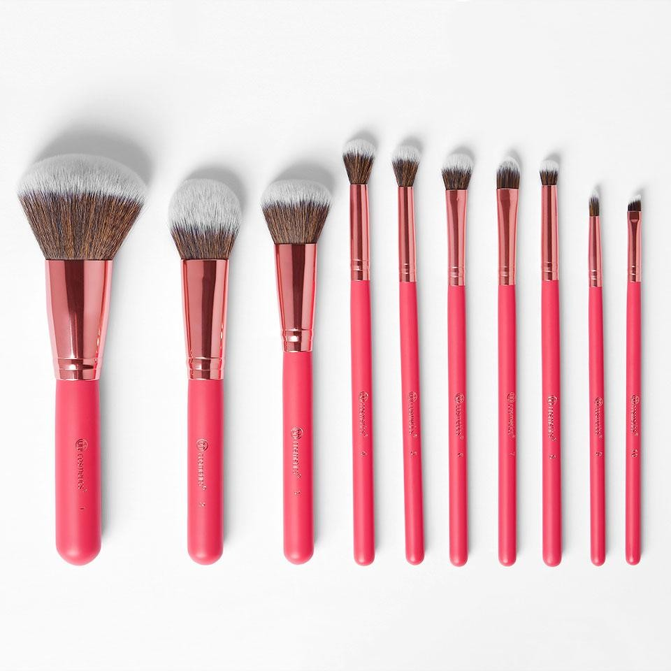 10-Teiliges Pinsel-Set - Bombshell Beauty Brush Set