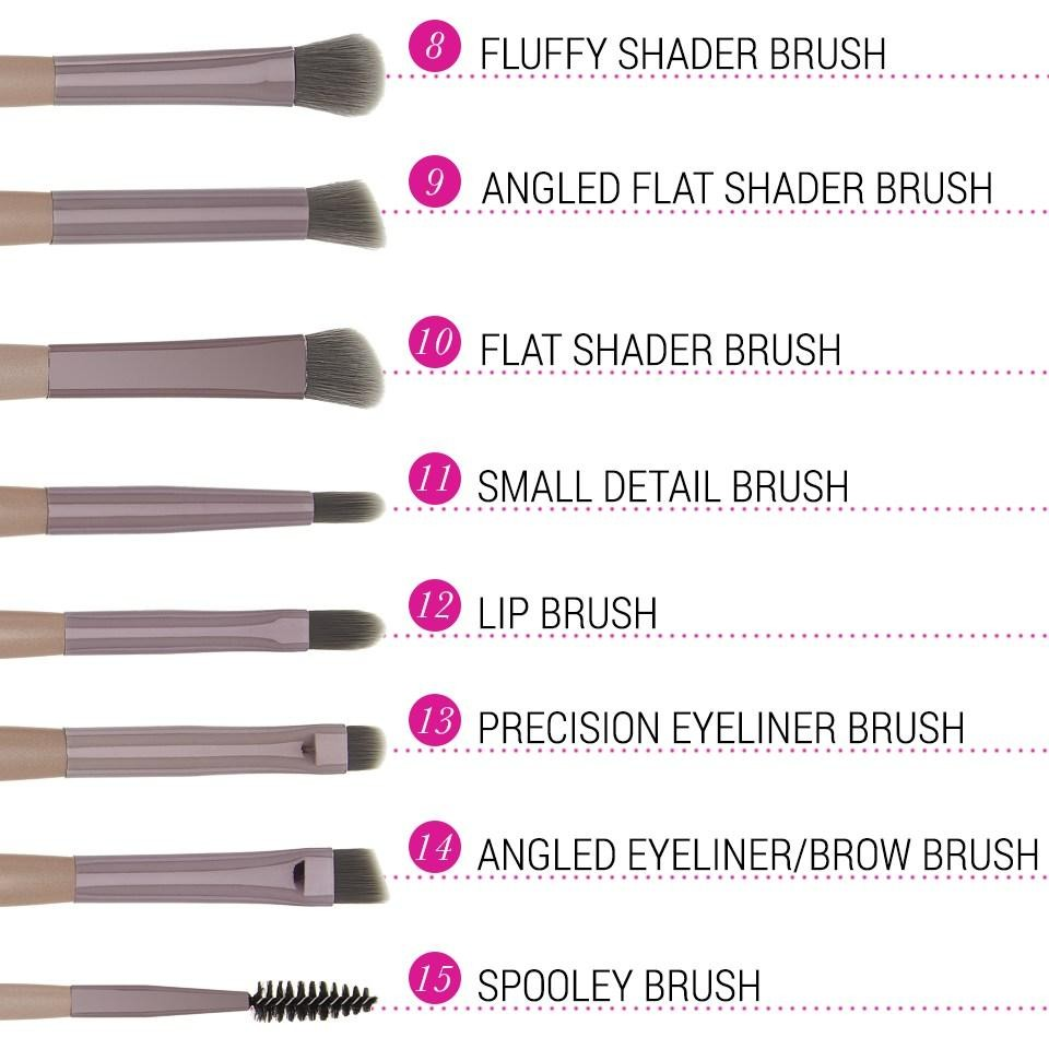 15-Teiliges Pinsel-Set - Lavish Elegance Brush Set