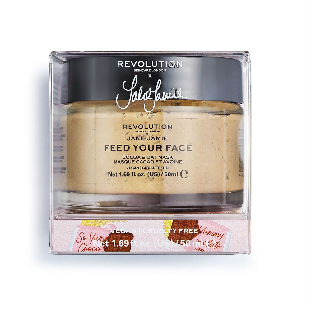Masque de Beauté - Revolution Skincare x Jake-Jamie - Feed Your Face - Cocoa & Oat Mask