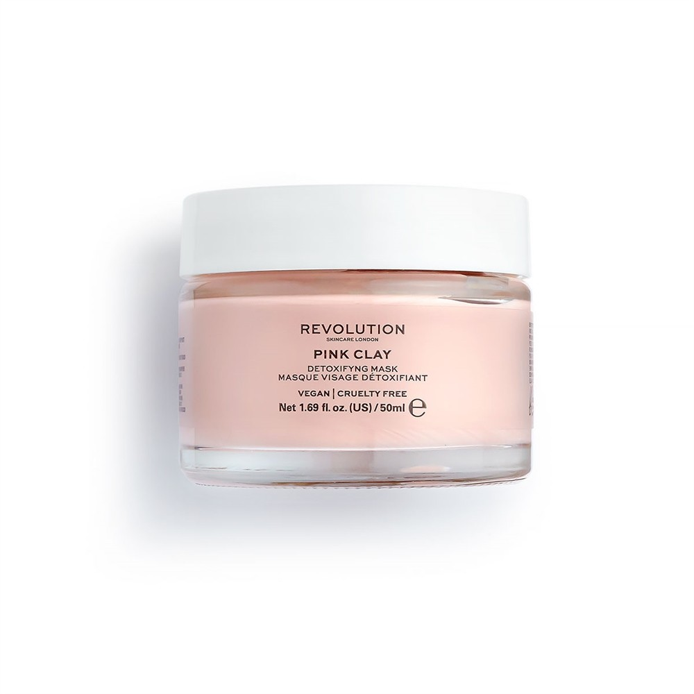 Gesichtsmaske - Pink Clay Detoxifying Face Mask