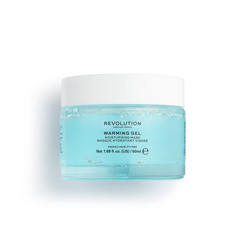 Warming Gel Moisturising Face Mask