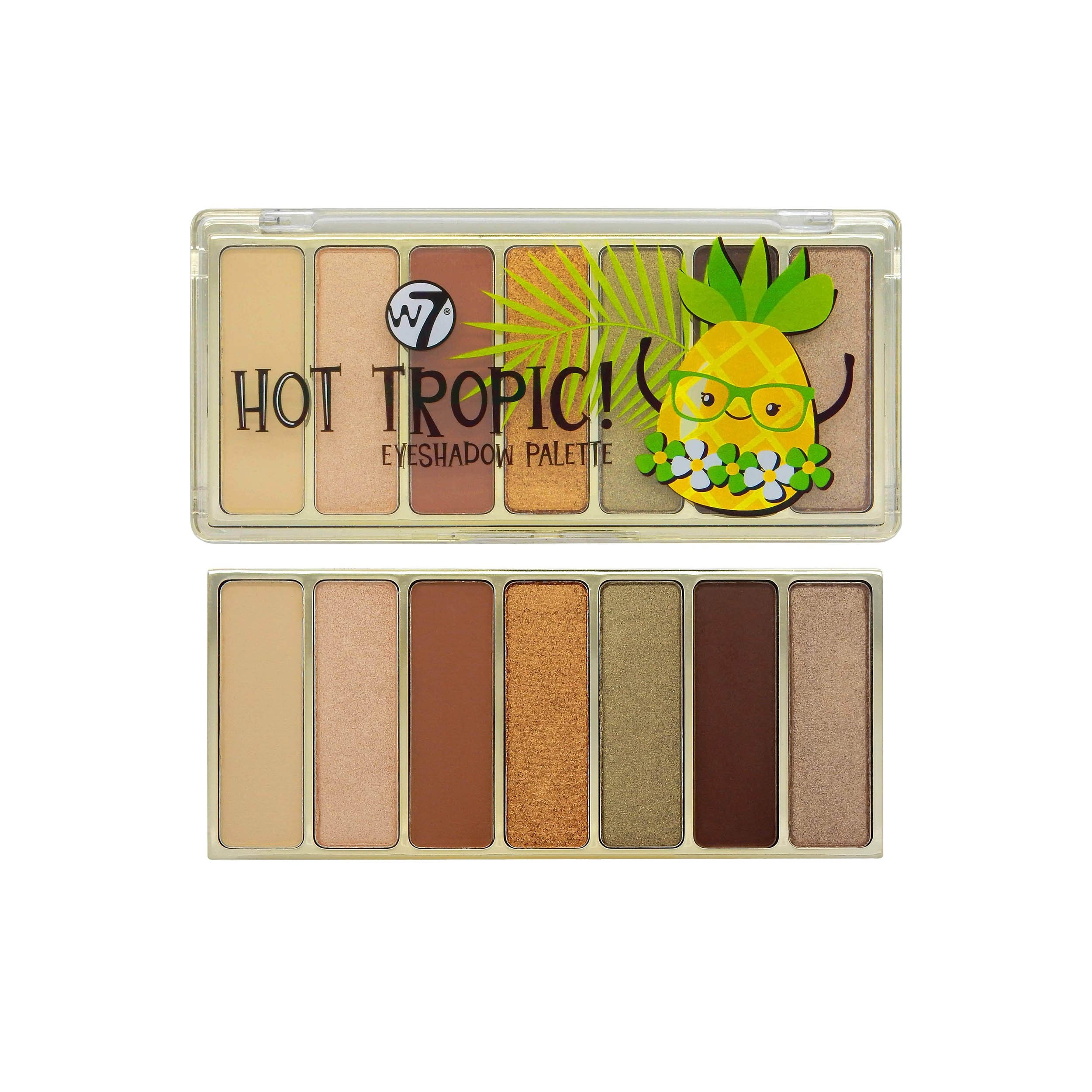 Lidschatten-Palette - Hot Tropic Eyeshadow Palette