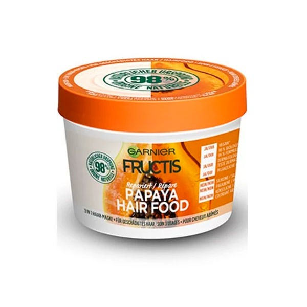 Haarmaske - Fructis - Papaya Hair Food
