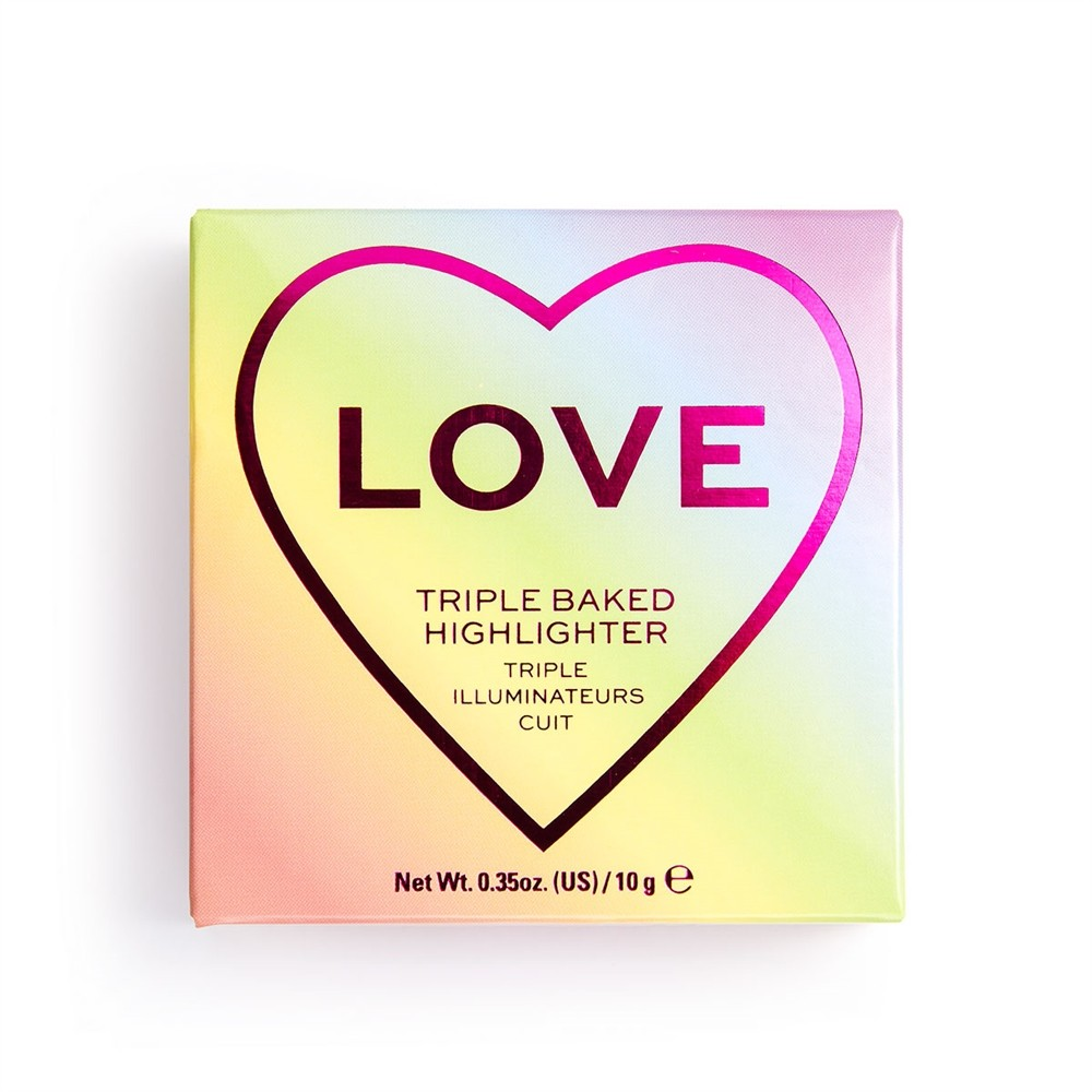 Tripple Baked Highlighter - I Heart Revolution x Pride