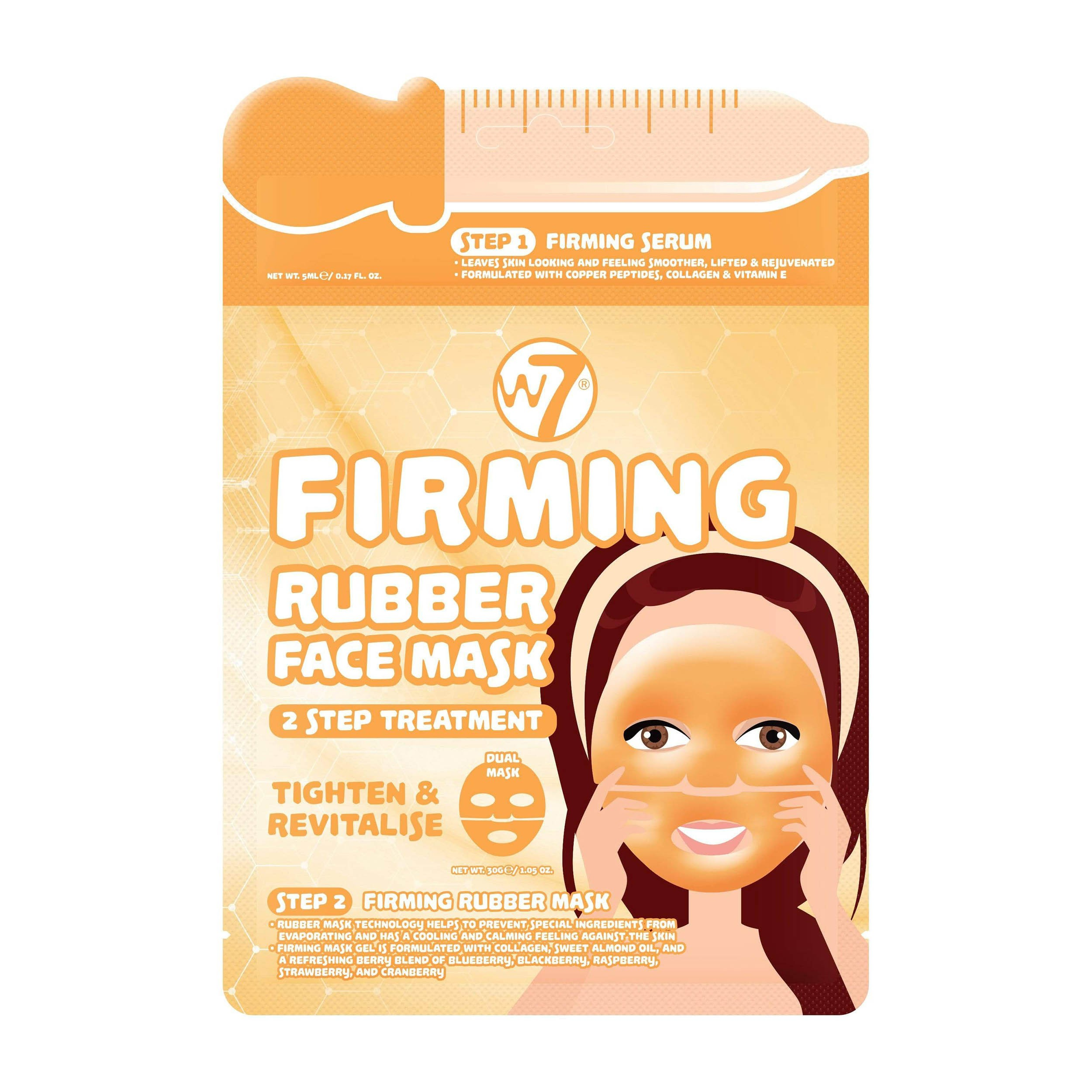 Gesichtsmaske - Firming 2 Step Treatment Rubber Face Mask
