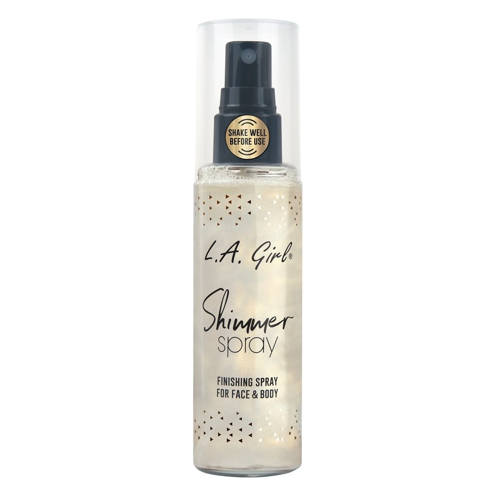 Make-Up Fixierspray - Shimmer Spray - Finishing Spray For Face & Body