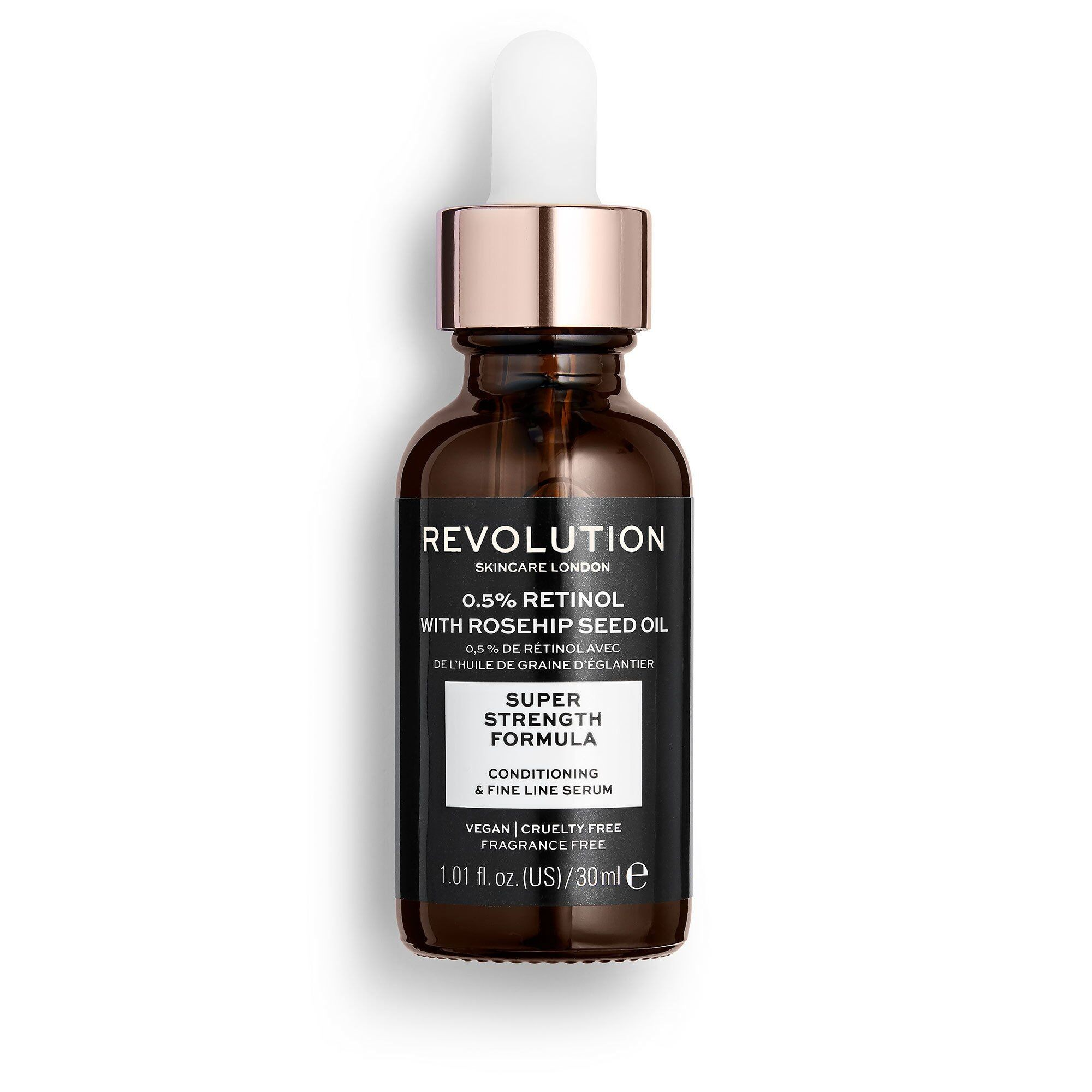 Conditioning & Fine Line Serum - 0.5% Retinol With Rosehip Seed Oil