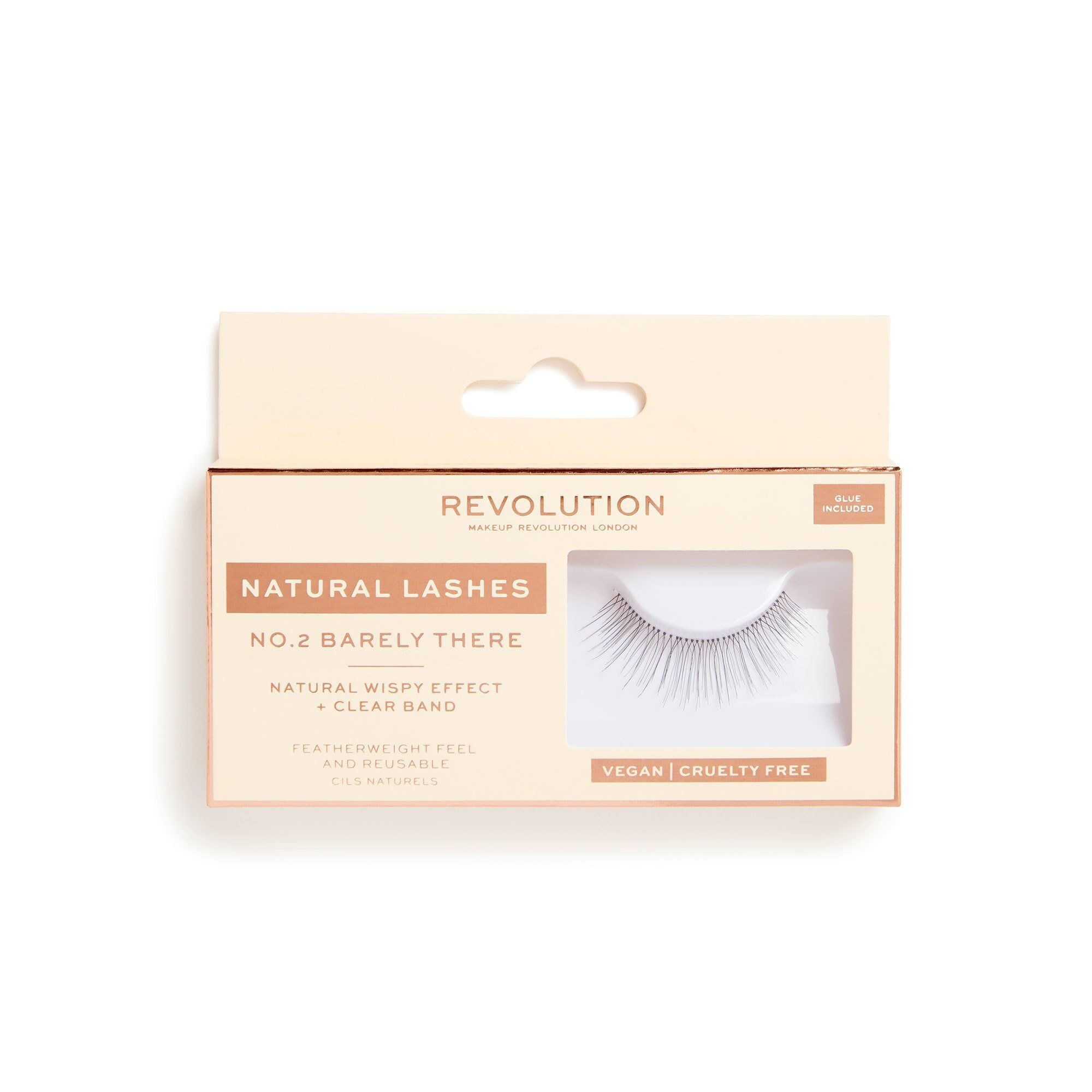 False Eyelashes - Natural Lashes - Barely There