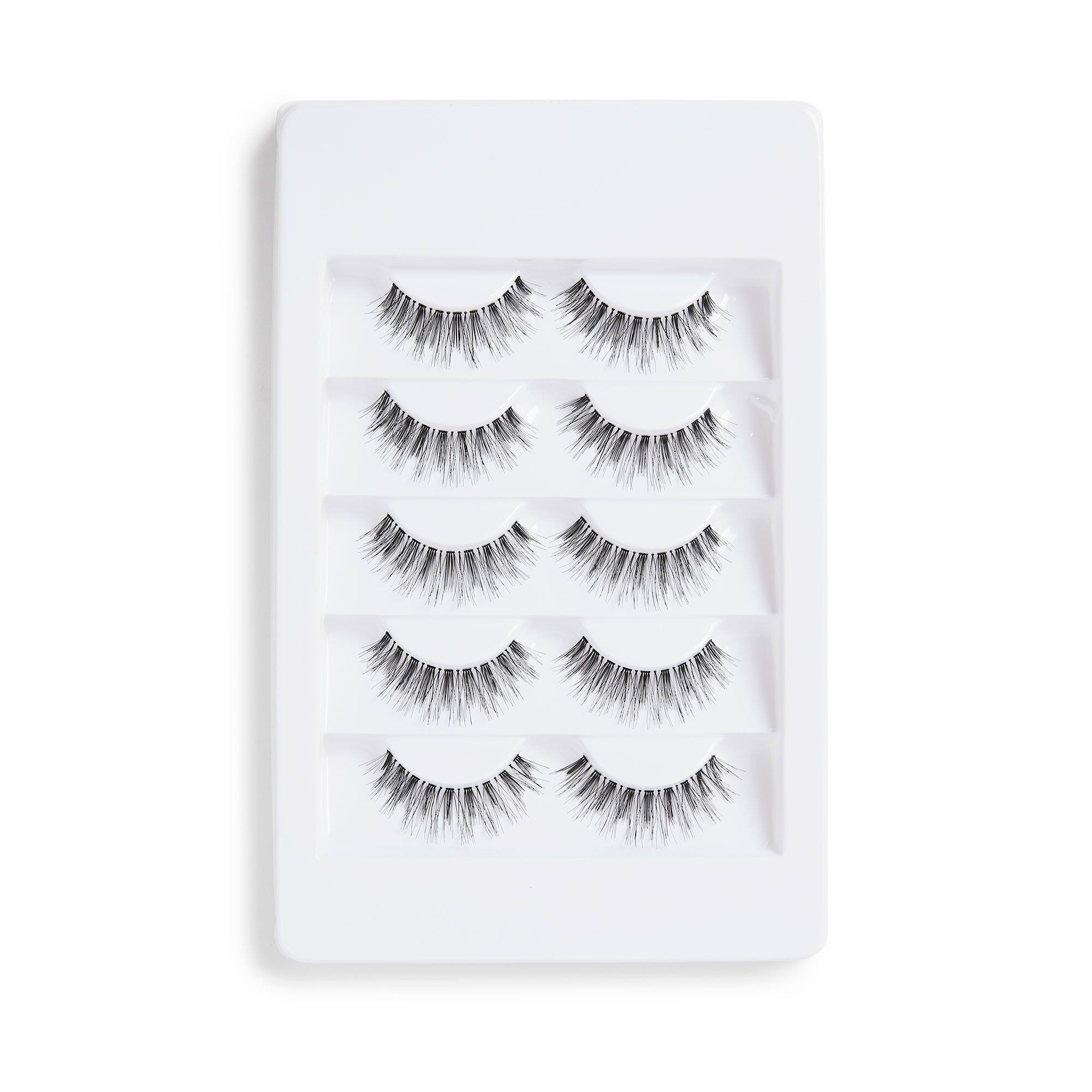 Falsche Wimpern - 5 Pack Feather Wispy Lashes