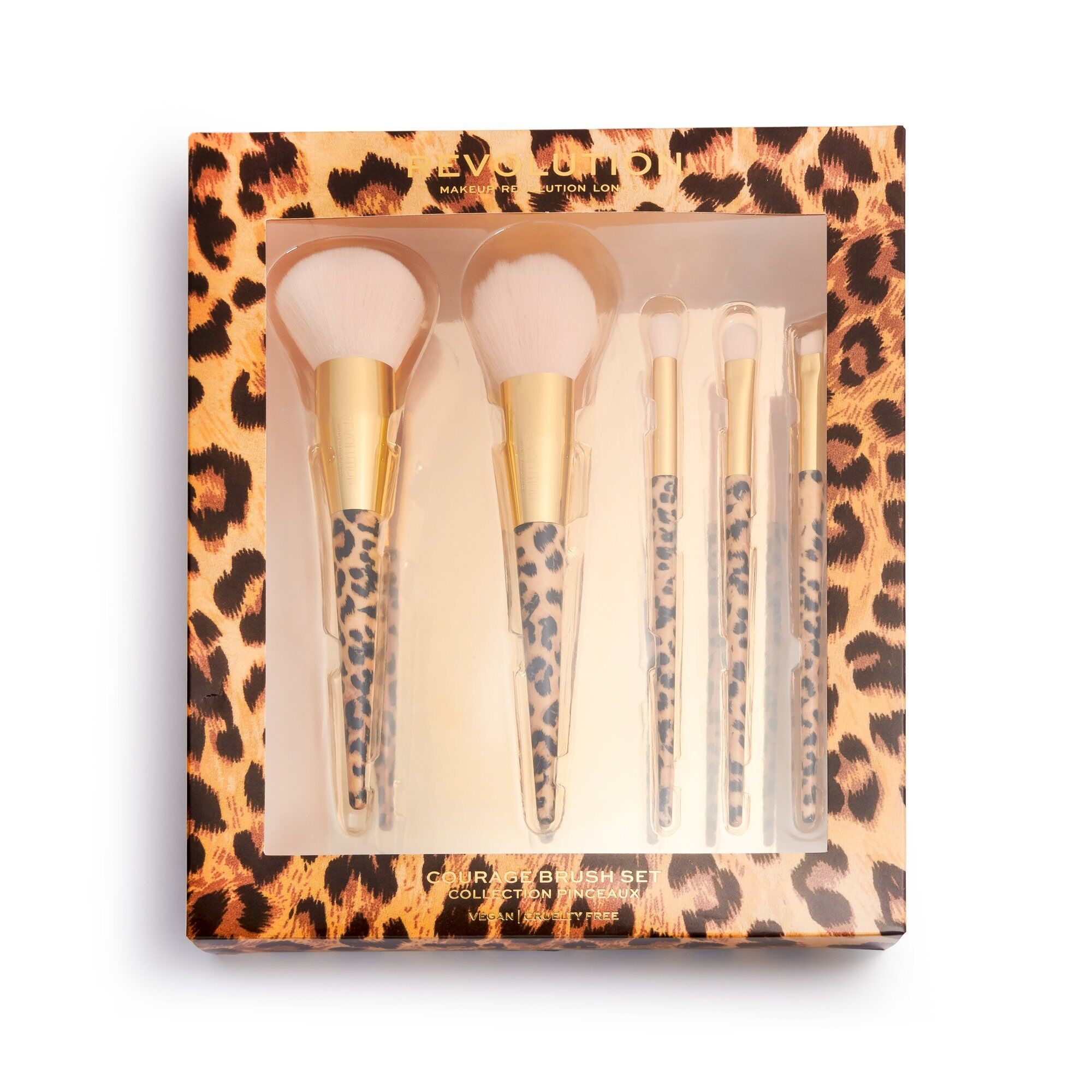 5-Teiliges Pinsel-Set - Wild Animal Courage Brush Set