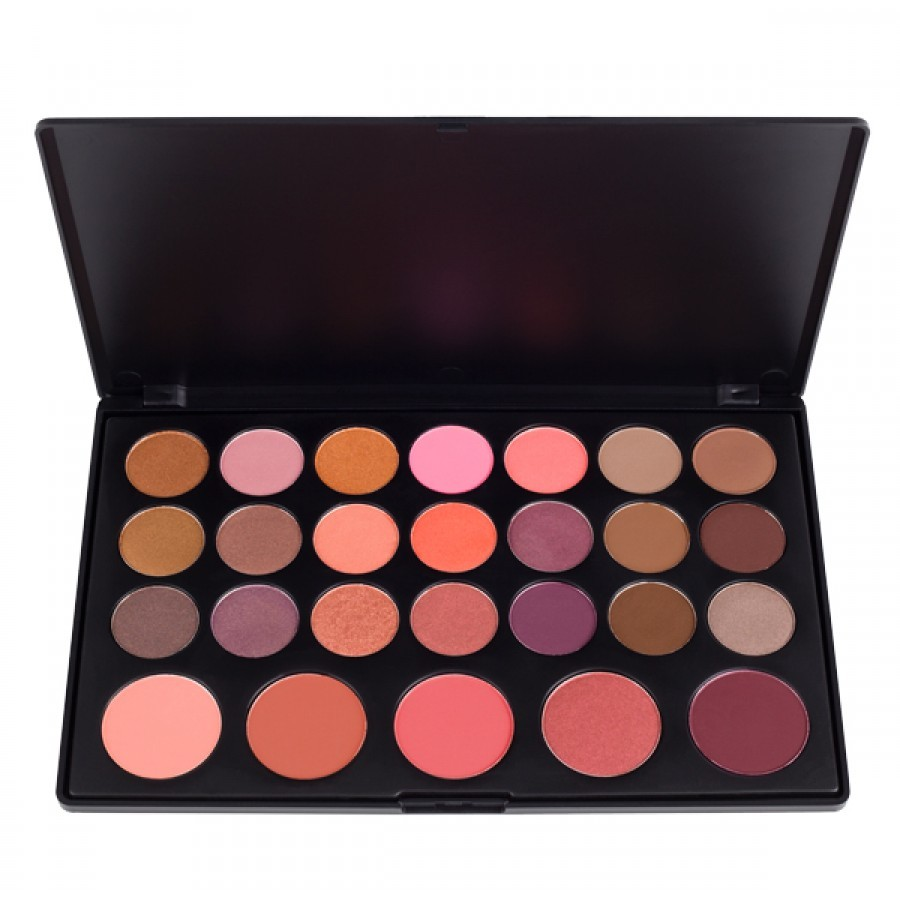 Lidschatten- & Blush-Palette - 26 Shadow Blush Palette
