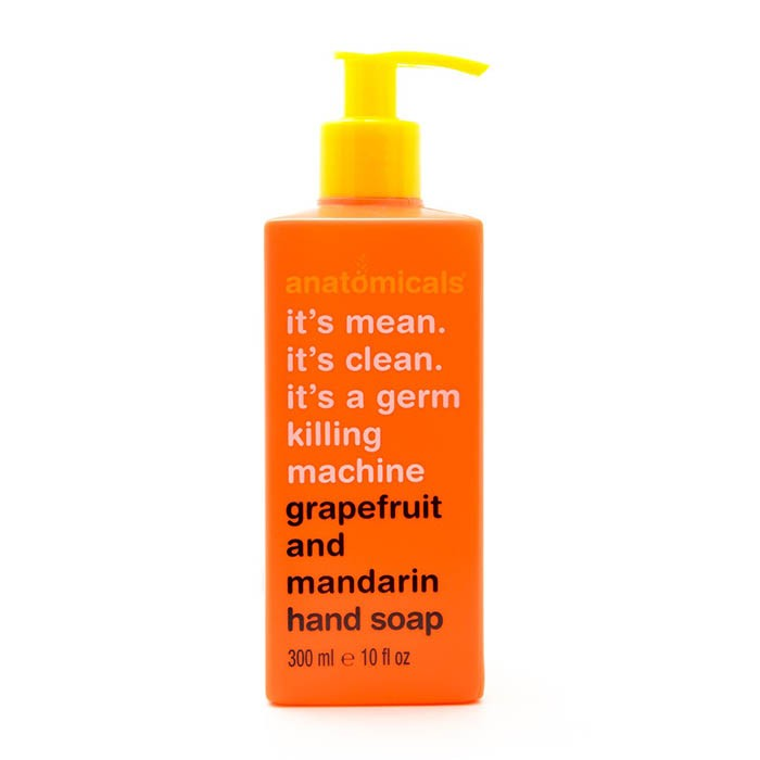 Handseife - It's Mean. It's Clean. It's A Germ Killing Machine - Grapefruit And Mandarin Hand Soap