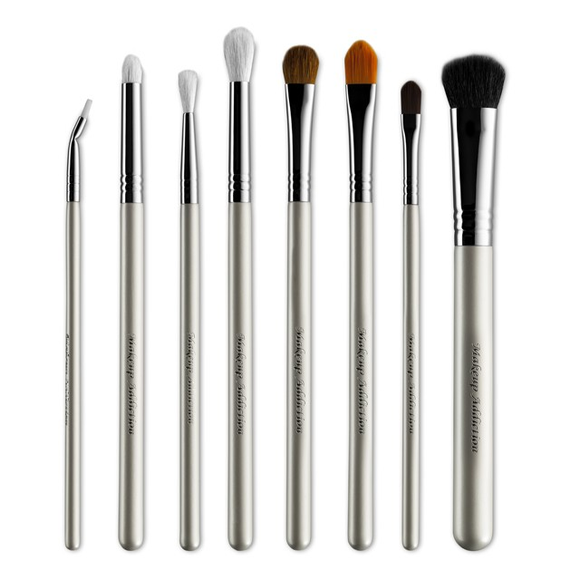 8-Teiliges Pinsel-Set - Arctic White Pro Eye Set