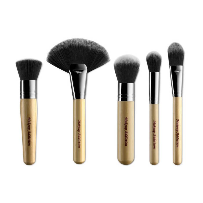 5-Teiliges Pinsel-Set - The Luxury Face Set