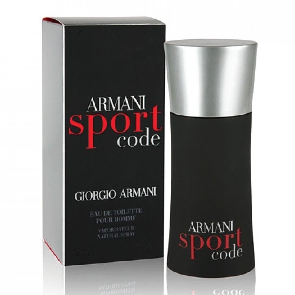 Giorgio Armani Code Sport Men Eau De Toilette Spray