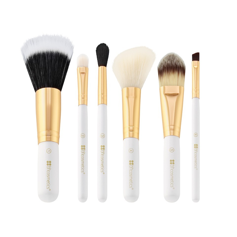 Bh 6 Teiliges Pinsel Set Bright White Beautypalastch