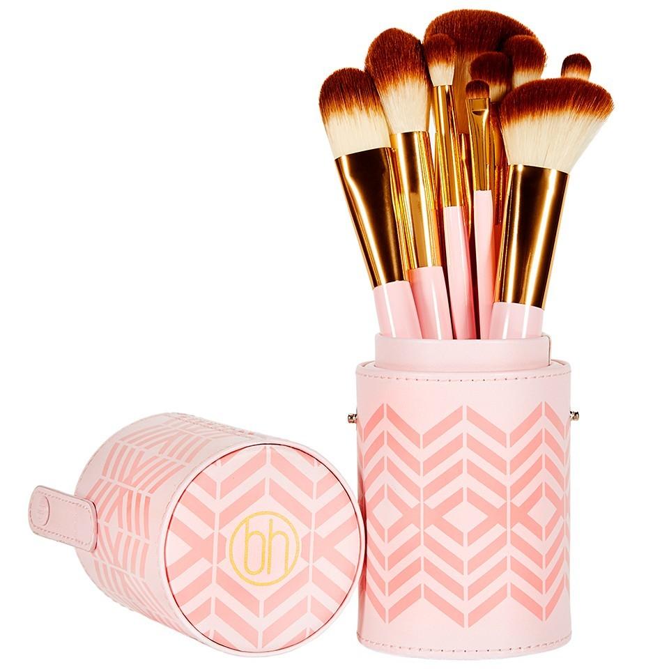 Bestseller Bh 10 Teiliges Pinsel Set Pink Perfection