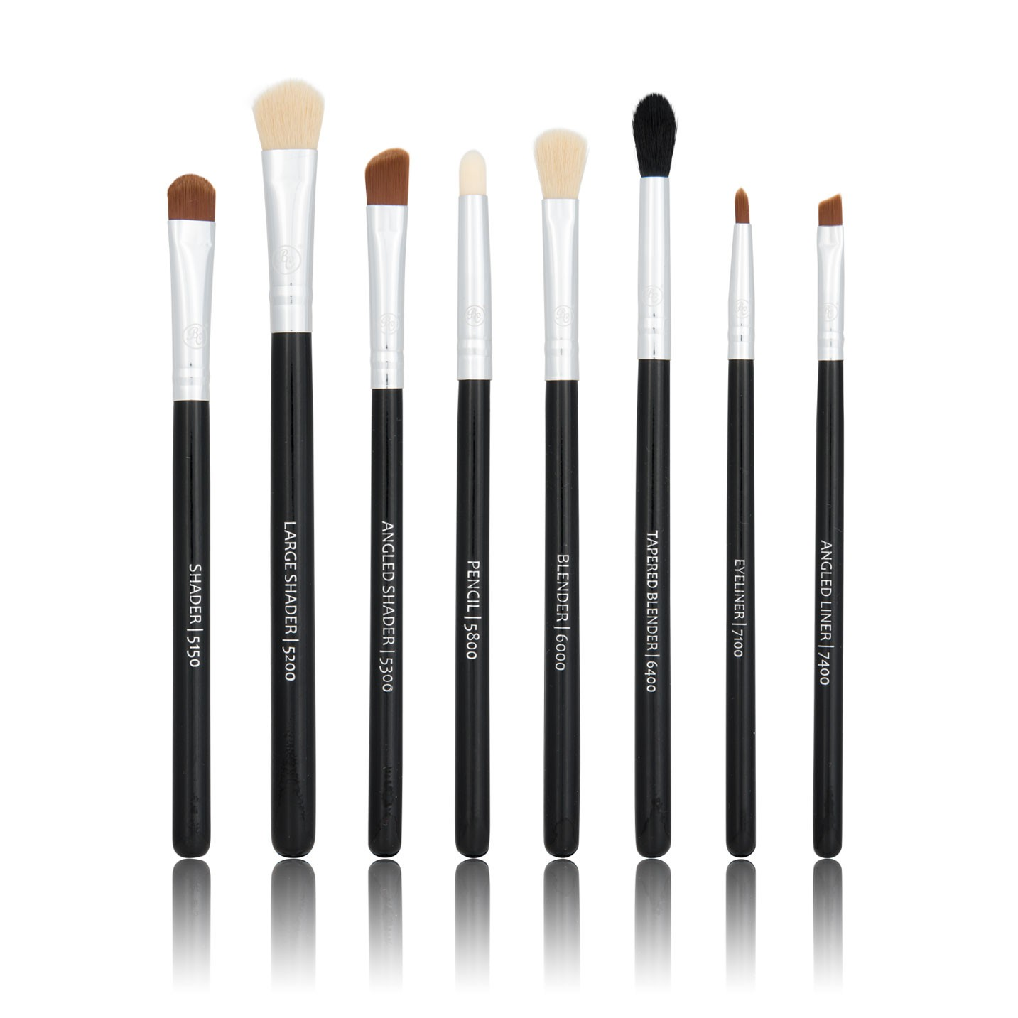 8-Teiliges Pinsel-Set - Classic Starter Eye Set