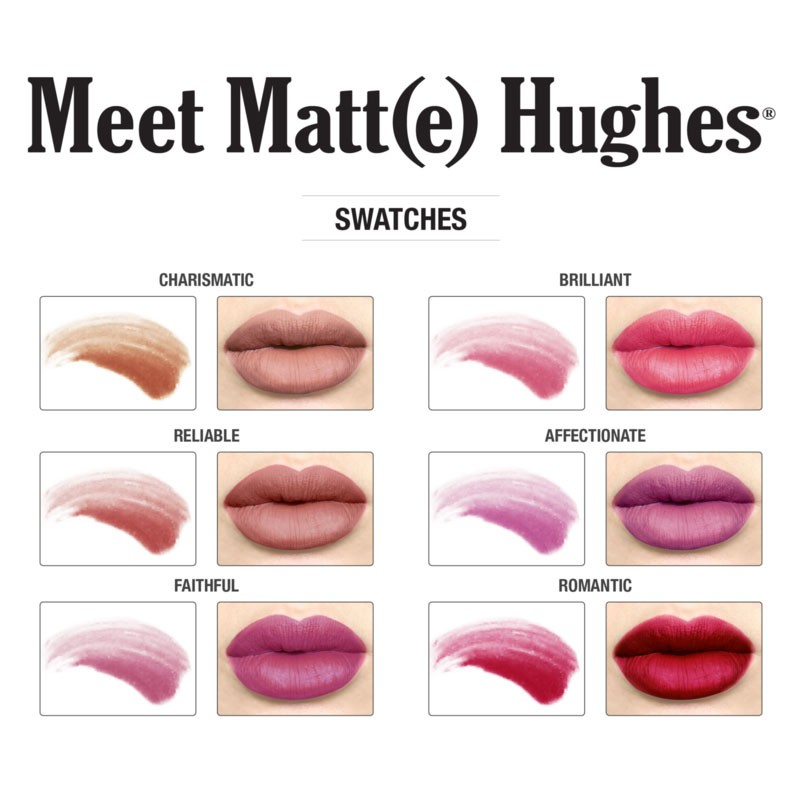 Flüssig-Lippenstift Mini-Set - Meet Matte Hughes Mini Kit 2 (Limited Edition)