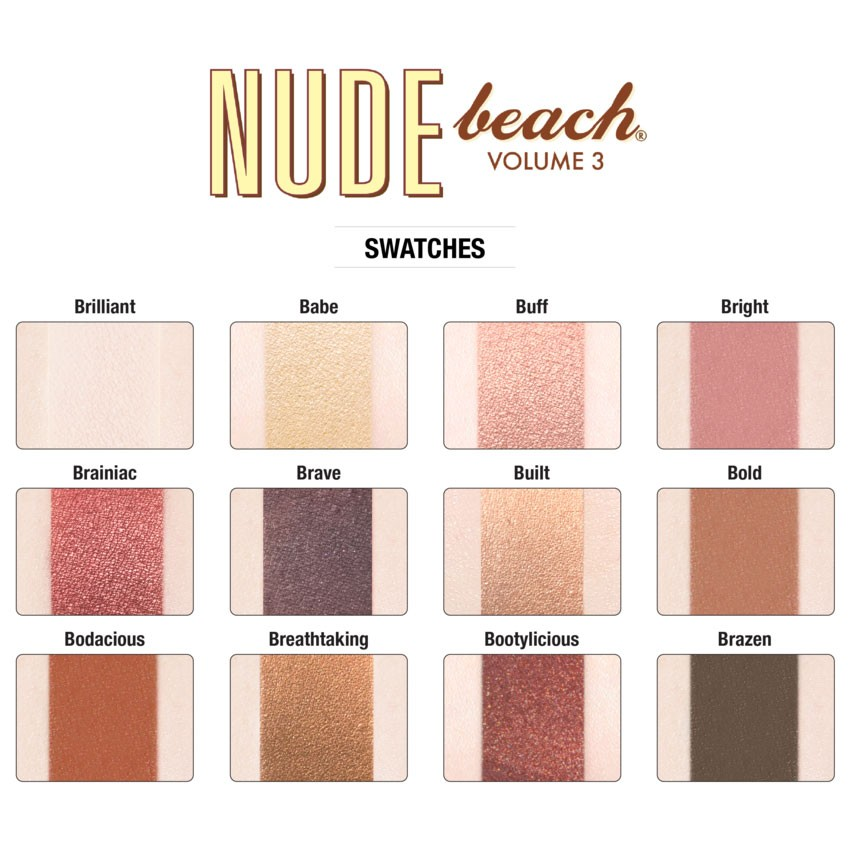 Eyeshadow Palette - Nude Beach