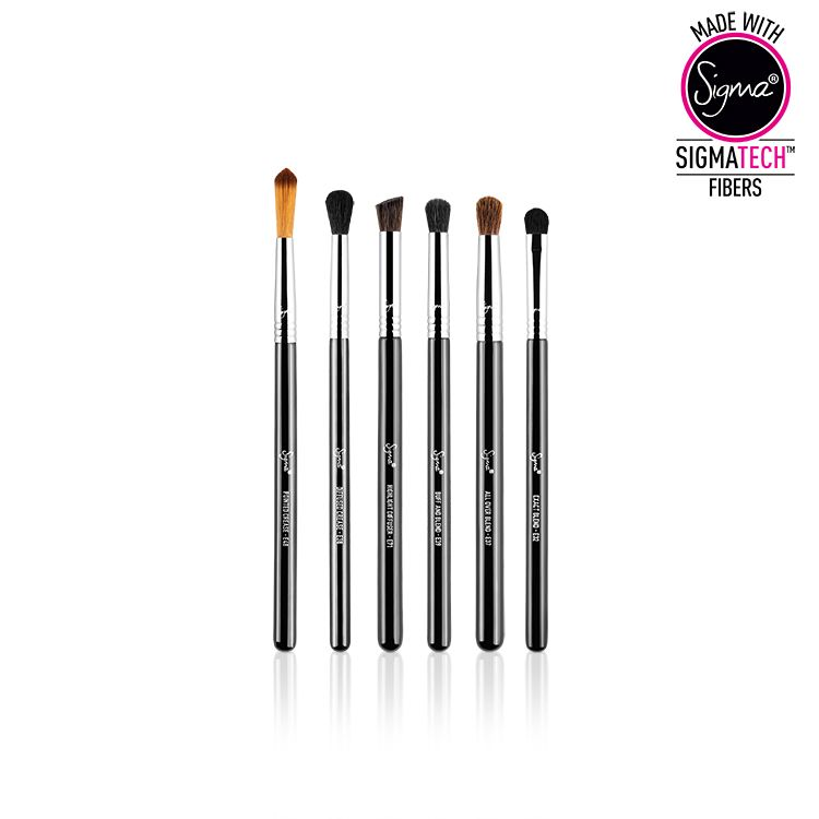 Sigma Beauty 6 Teiliges Augen Pinsel Set The Perfect Blend Kit