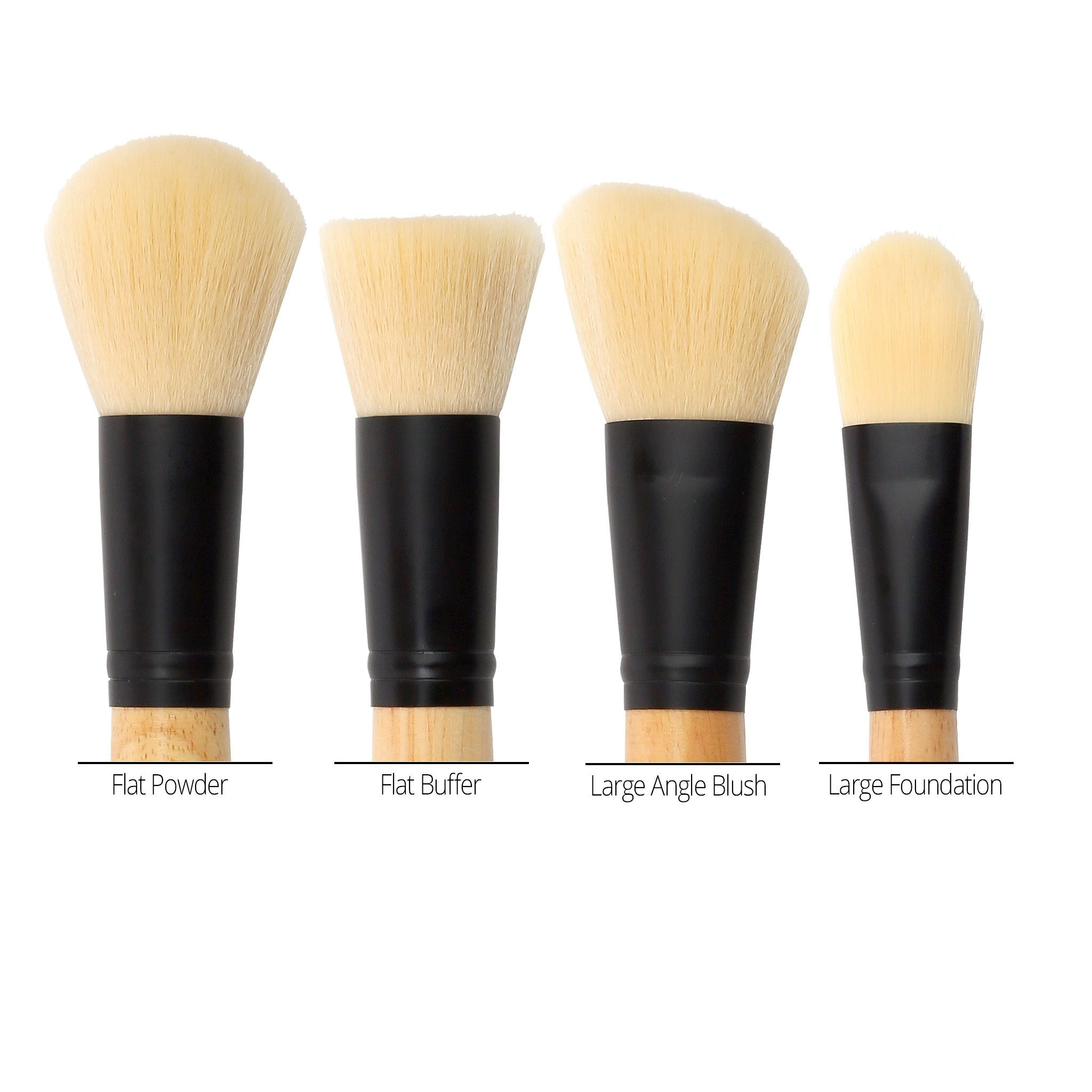 4-Teiliges Pinsel-Set - 4 Face Brush Set