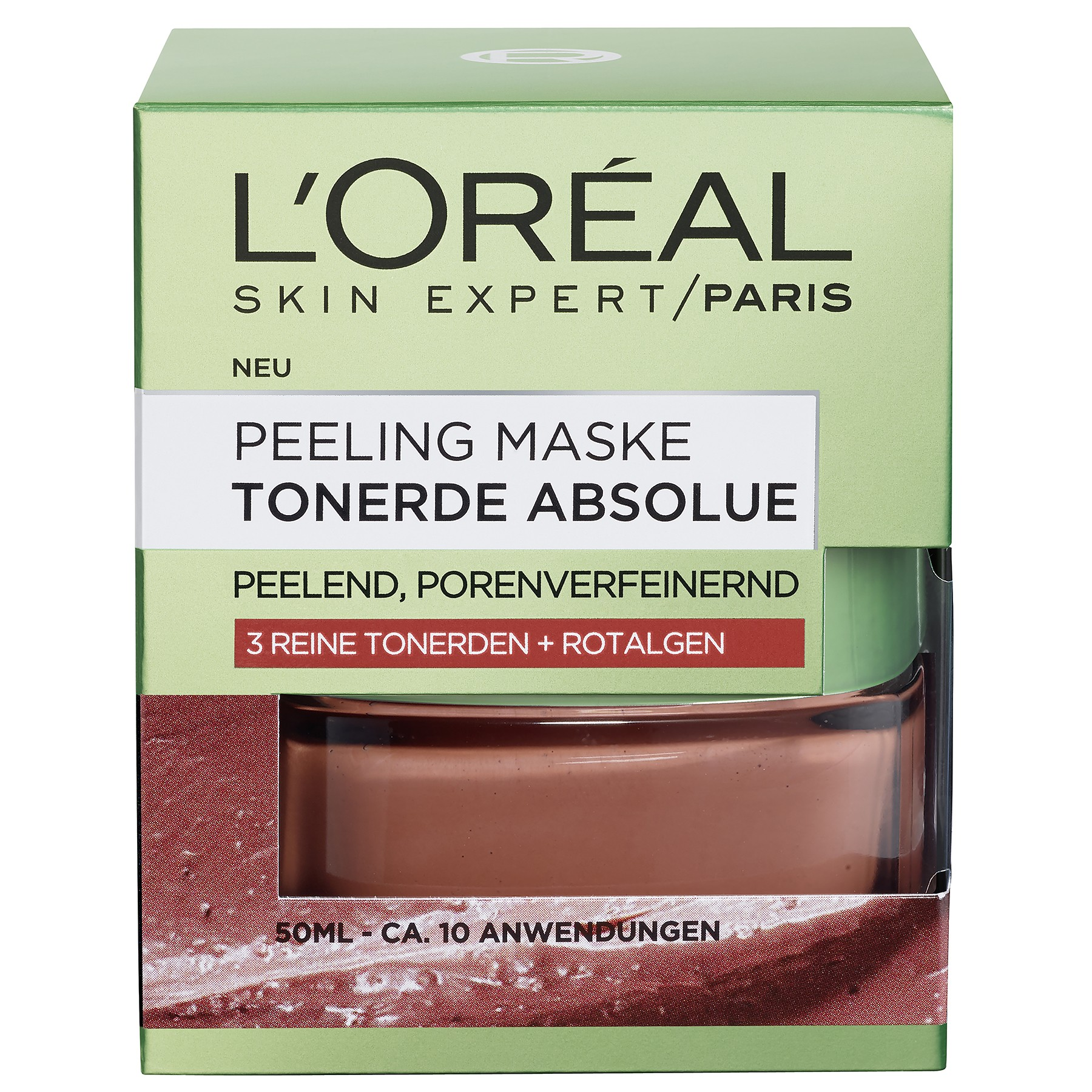 Etwas Neues genug L'Oréal Paris Gesichtsmaske - Peeling Maske Tonerde Absolue &HD_93