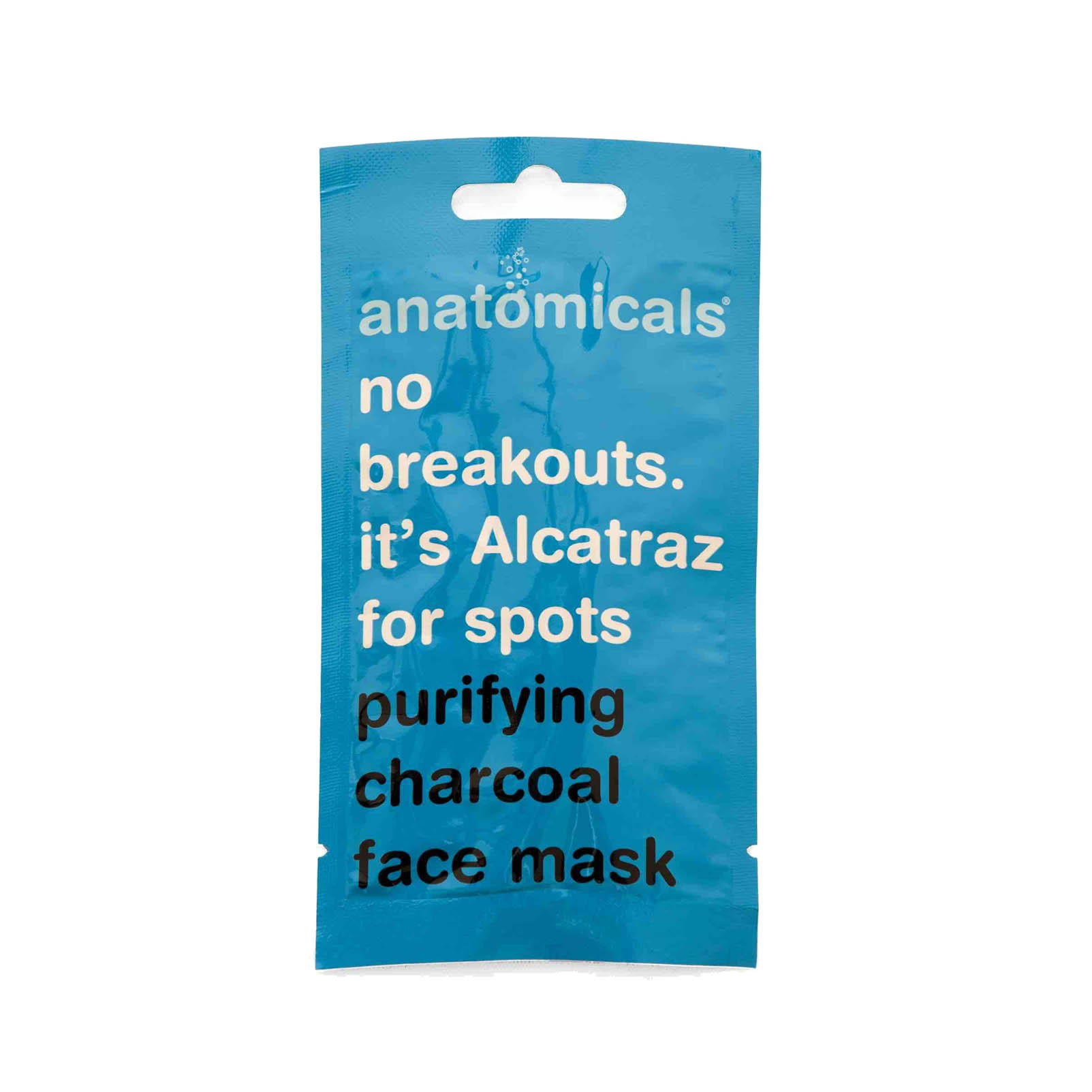 Gesichtsmaske - No Breakouts. It's Alcatraz For Spots - Purifying Charcoal Face Mask