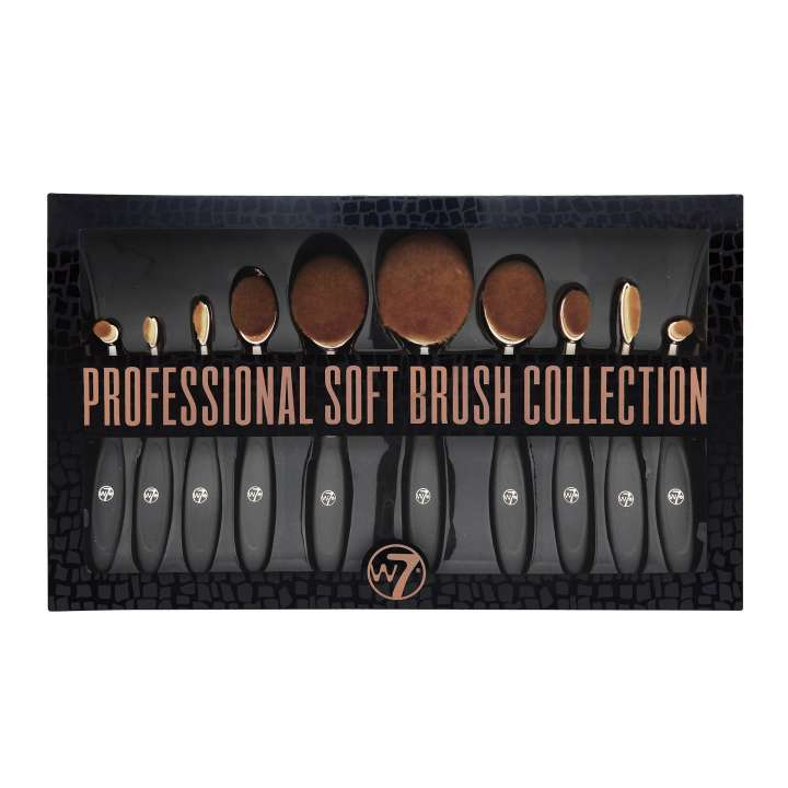 Ovales 10-Teiliges Pinsel-Set - Professional Soft Brush Collection