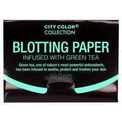 Blotting Paper Infused With Green Tea (50 Pièces)