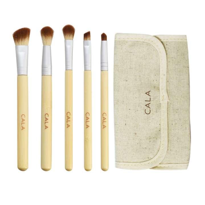 5-Teiliges Pinsel-Set - Eye Make-Up Kit