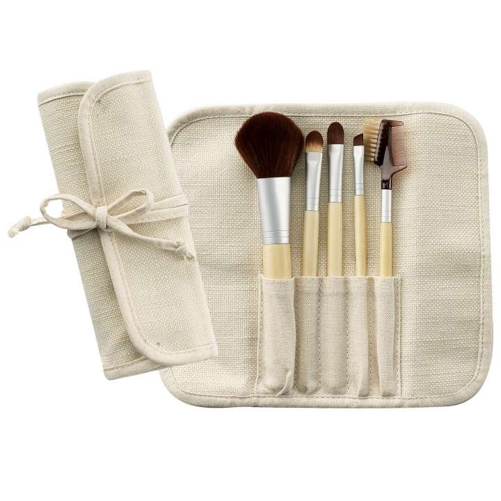 5-Teiliges Pinsel-Set - 5 Piece Bamboo Brush Set