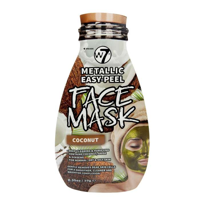 Peel-Off Gesichtsmaske - Metallic Easy-Peel Coconut Face Mask