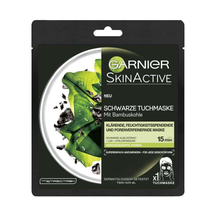 SkinActive Super Purifying Charcoal Facial Mask