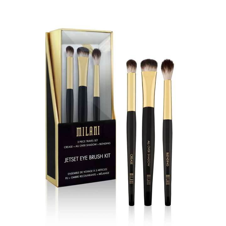 3-Teiliges Reisepinsel-Set - 3 Piece Travel Set - Jetset Eye Brush Kit