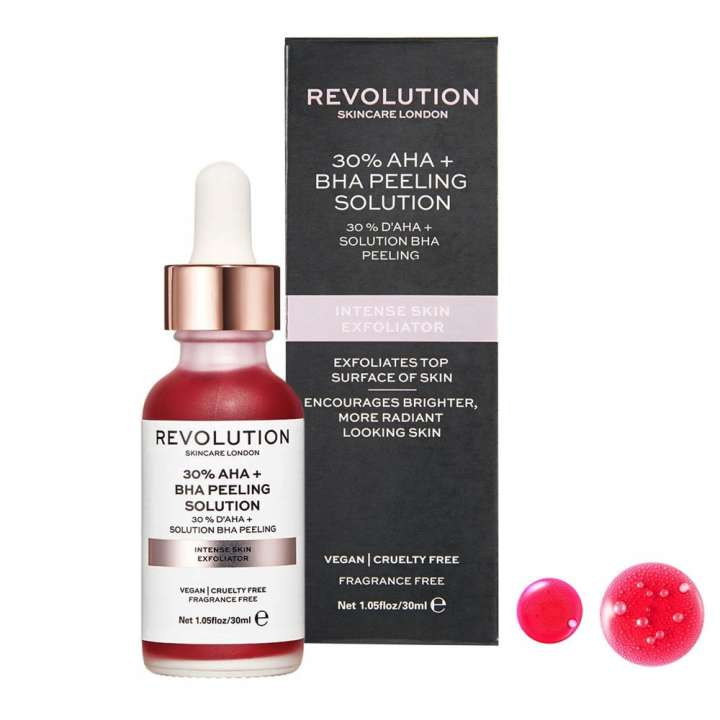 30% AHA + Solution BHA Peeling - Intense Skin Exfoliator - 30% AHA + BHA Peeling Solution