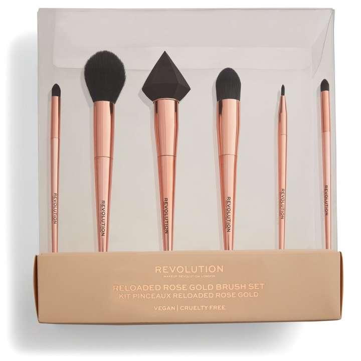 6-Teiliges Pinsel-Set - Reloaded Rose Gold Brush Set
